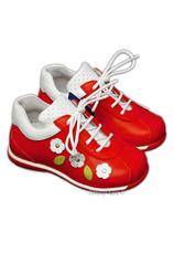 Avus® Pantofi piele  Sirio Rosu