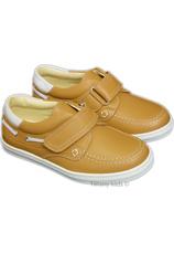 Pantofi piele Leofex Kids Bej