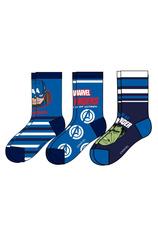 Avengers® Set 3 sosete Albastru