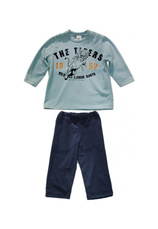 Pijama (92-176) F1 Bleu