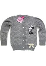 Minnie® Cardigan tricotat Gri