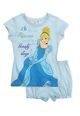 Princess ® Pijama vara Albastru