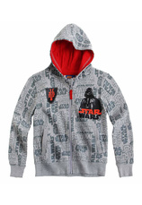 Star Wars® Cardigan (6-12 ani) Gri