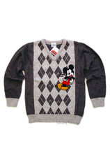 Mickey® Pulover (4-5 ani) Gri