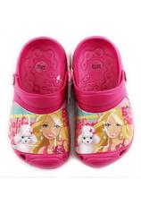Barbie® Saboti tip Crocs Fuxia