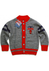 Spiderman® Cardigan (2-7 ani) Gri