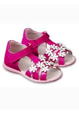 Avus® Sandale piele Fuxia lucios