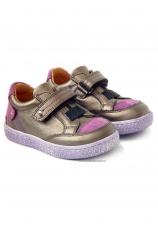 Avus® Pantofi piele Bronz mix