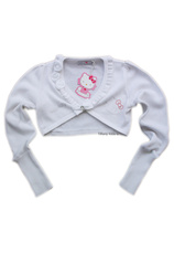 Hello Kitty® Bolero (8-14 ani)  Alb
