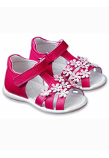 Avus® Sandale piele Fuxia