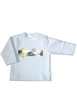 Bluza baieti (68-98) Gri pal