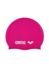 Arena® Clasic Silicon jr. casca (5-10 ani)  Fuxia 91