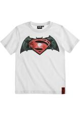 Batman v Superman Tricou Alb (8-14 ani)