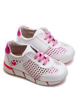 Pantofi sport piele Stups Alb