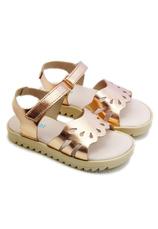 Sandale piele eco Camelot Auriu