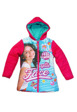Soy Luna® Jacheta vatuita (4-12 ani) Ciclam