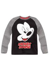 Mickey® Bluza Negru-Gri