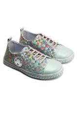 PJ® Pantofi sport piele Tag Multicolor