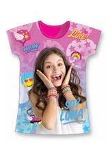 Soy Luna® Tricou Ciclam Print
