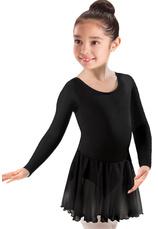 Body cu fusta tull gimnastica & dans clasic Negru 1701