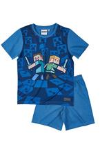 Minecraft® Pijama vara Albastru
