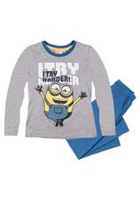 Minions® Pijama (6-12 ani) Gri