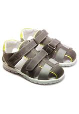 Hokide® Sandale piele Gri-galben