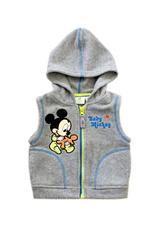 Mickey® Vesta baby fliss (62-86) Gri