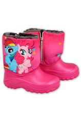 My Little Pony® Cizme eco imblanite Ciclam 860571