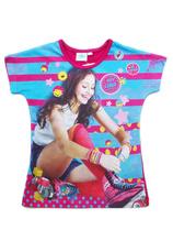Soy Luna® Tricou Fuxia Print