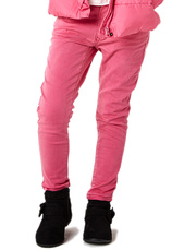 Sugar Squad® Jeans elastic 2-8 ani Roz
