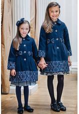Al-Da® Palton elegant Veronica albastru