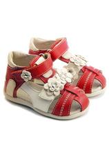 Hokide® Sandale piele Rosu-auriu 405001