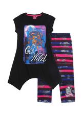 Monster High® Compleu leggins Negru