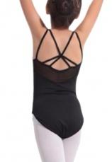 Body gimnastica & dans Negru Spandex 1107