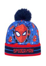 Spider-Man® Caciula albastra pompon 37182