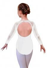 Body gimnastica & dans Alb Spandex 1609