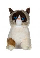 """Jucarie plus Pisica """"Grumpy""""  25cm"""