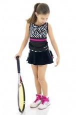 Tiffany Kids® Set Tenis Fusta cu maieu Zebra II 55900