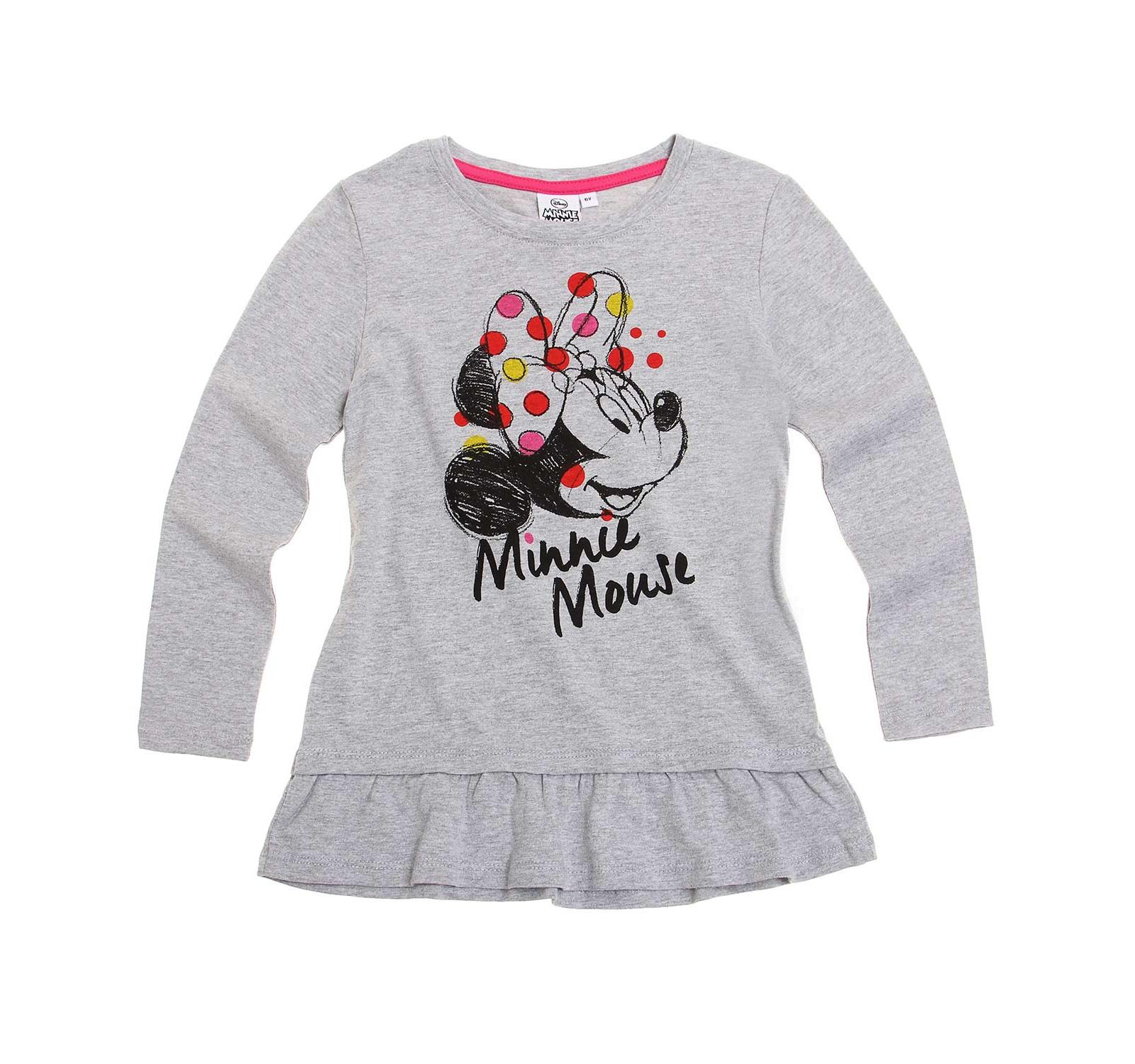 Minnie® Bluza tunica (4-10 ani) Gri