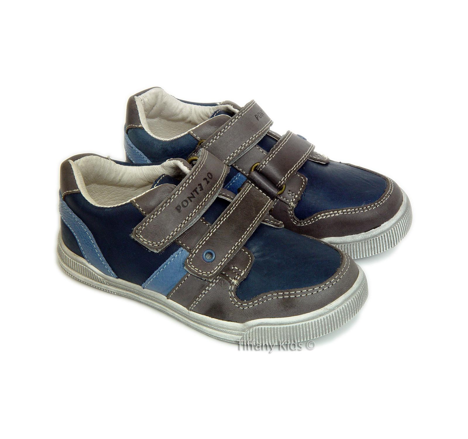 Ponte 20® Pantofi sport piele Albastru 61281