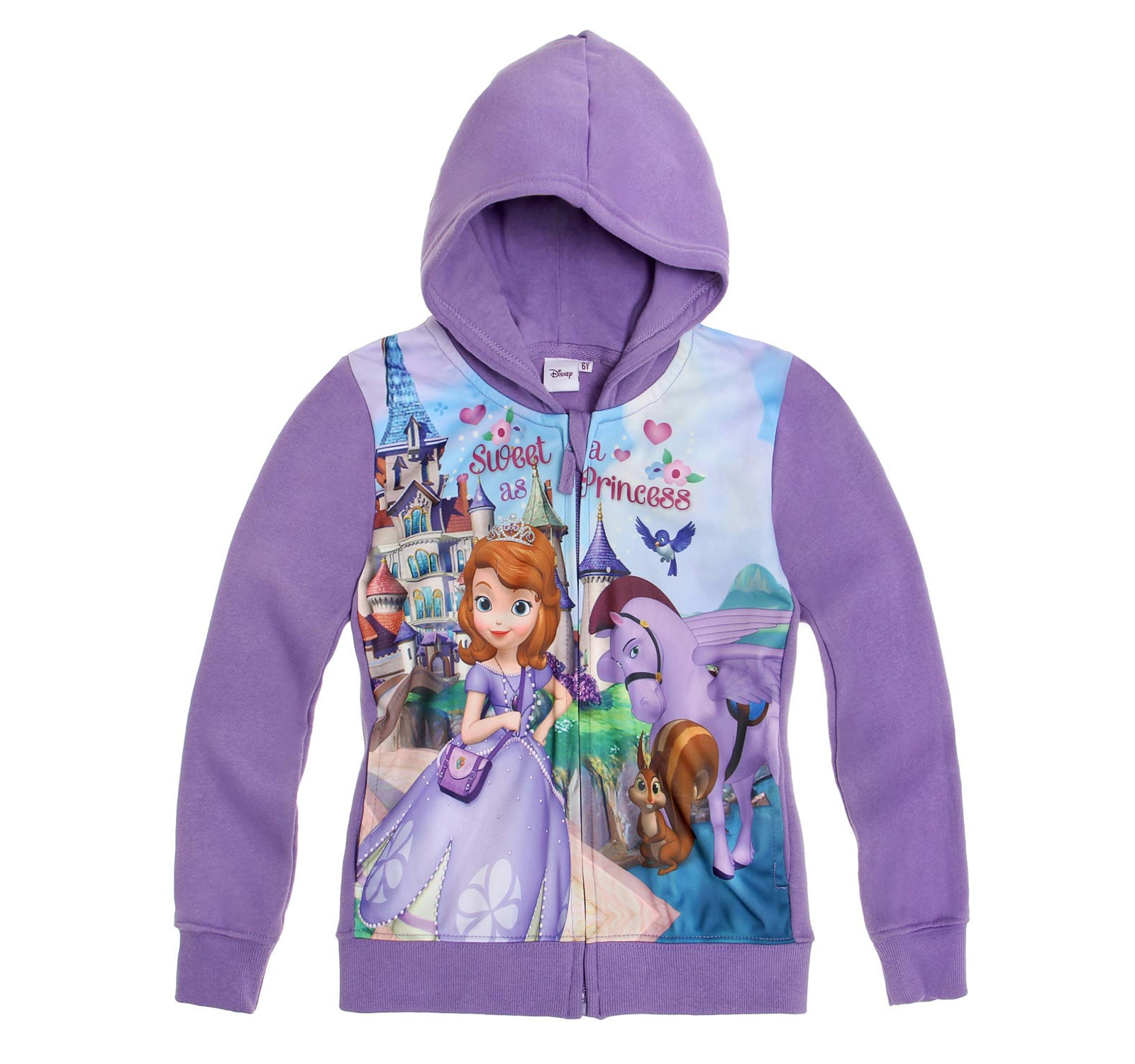 Sofia the First® Hanorac cu gluga Mov