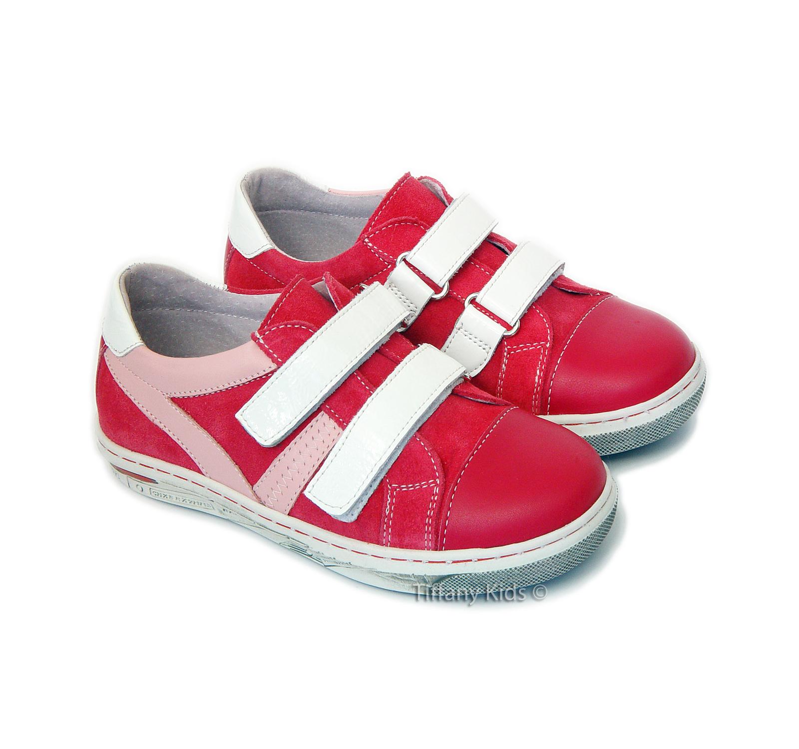 Leofex Pantofi sport piele Ciclam