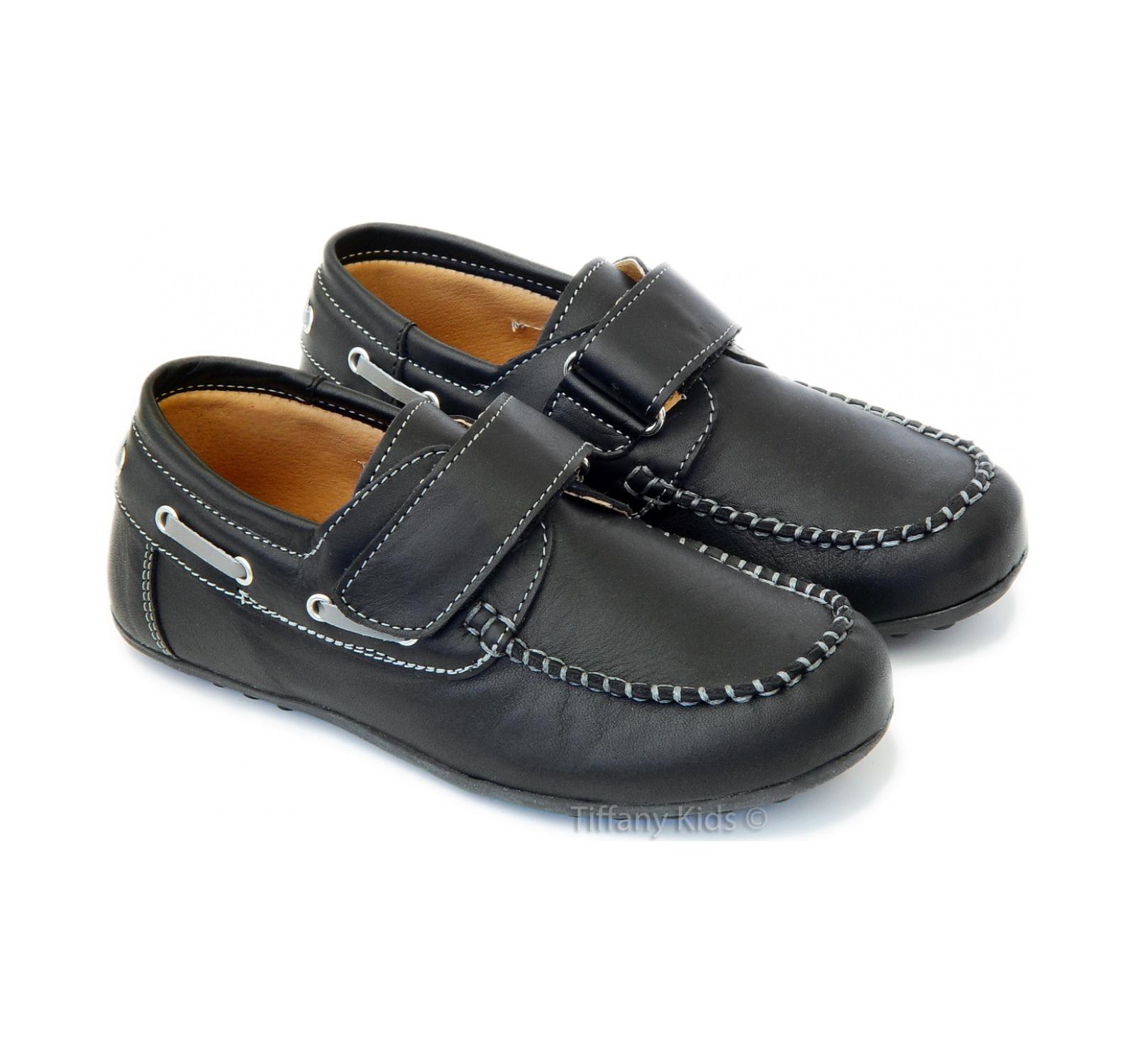 PJ® Pantofi piele Negri