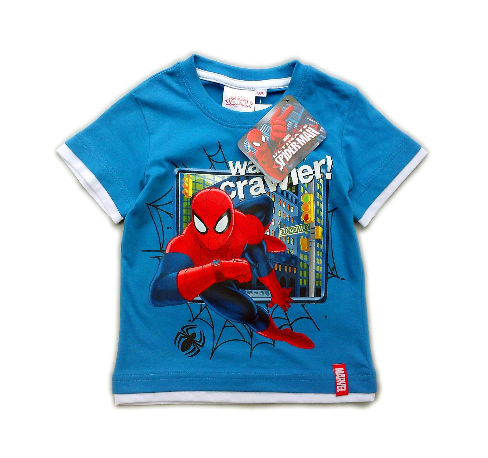 Spiderman® Tricou (98-128) Albastru