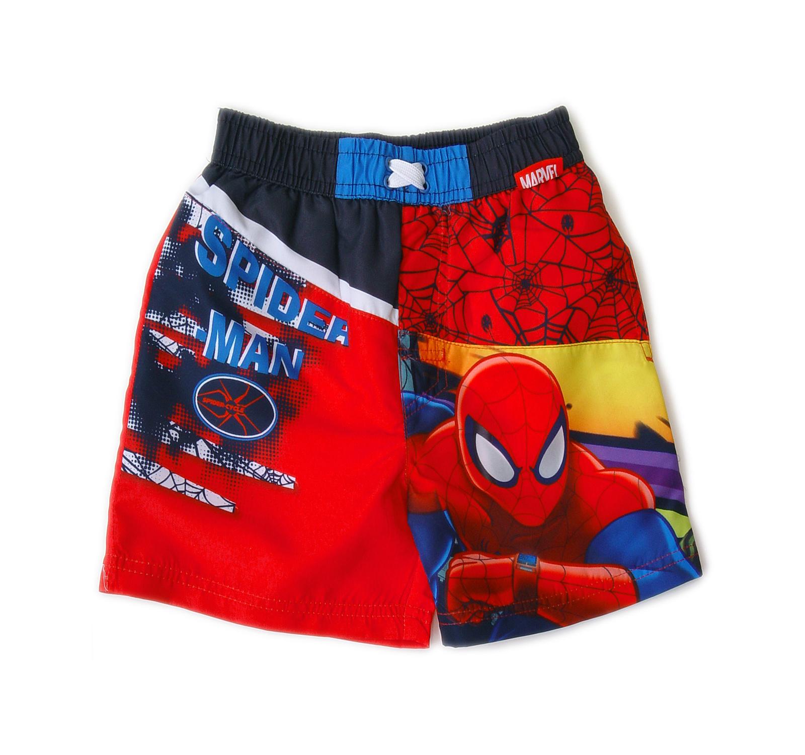 Spider-Man® Short baie (4-8 ani) Rosu