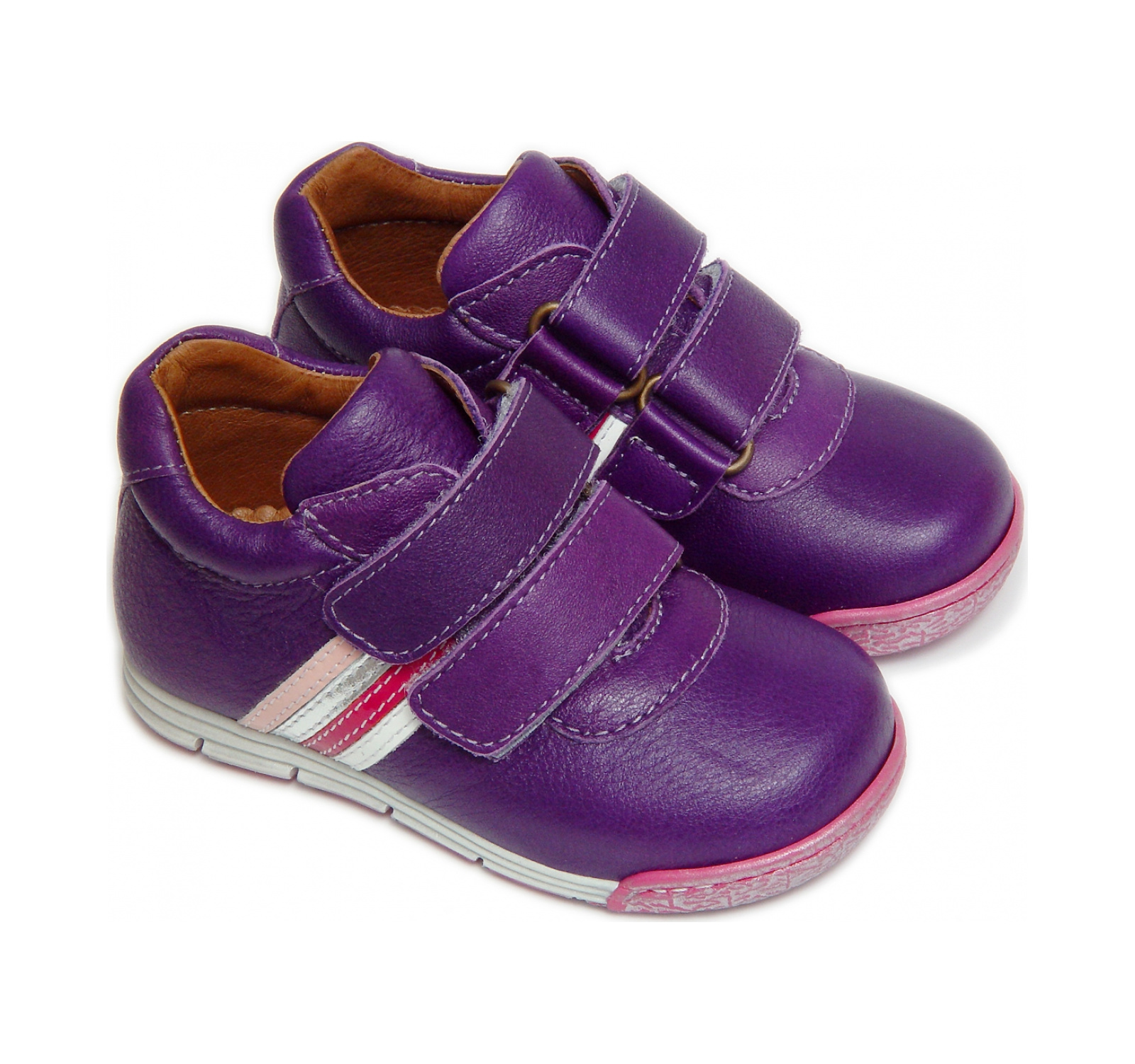 Avus® Pantofi piele Violet