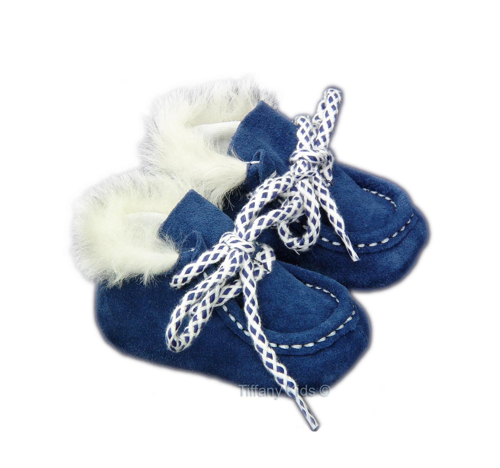 Mocasini piele BBFox Albastru