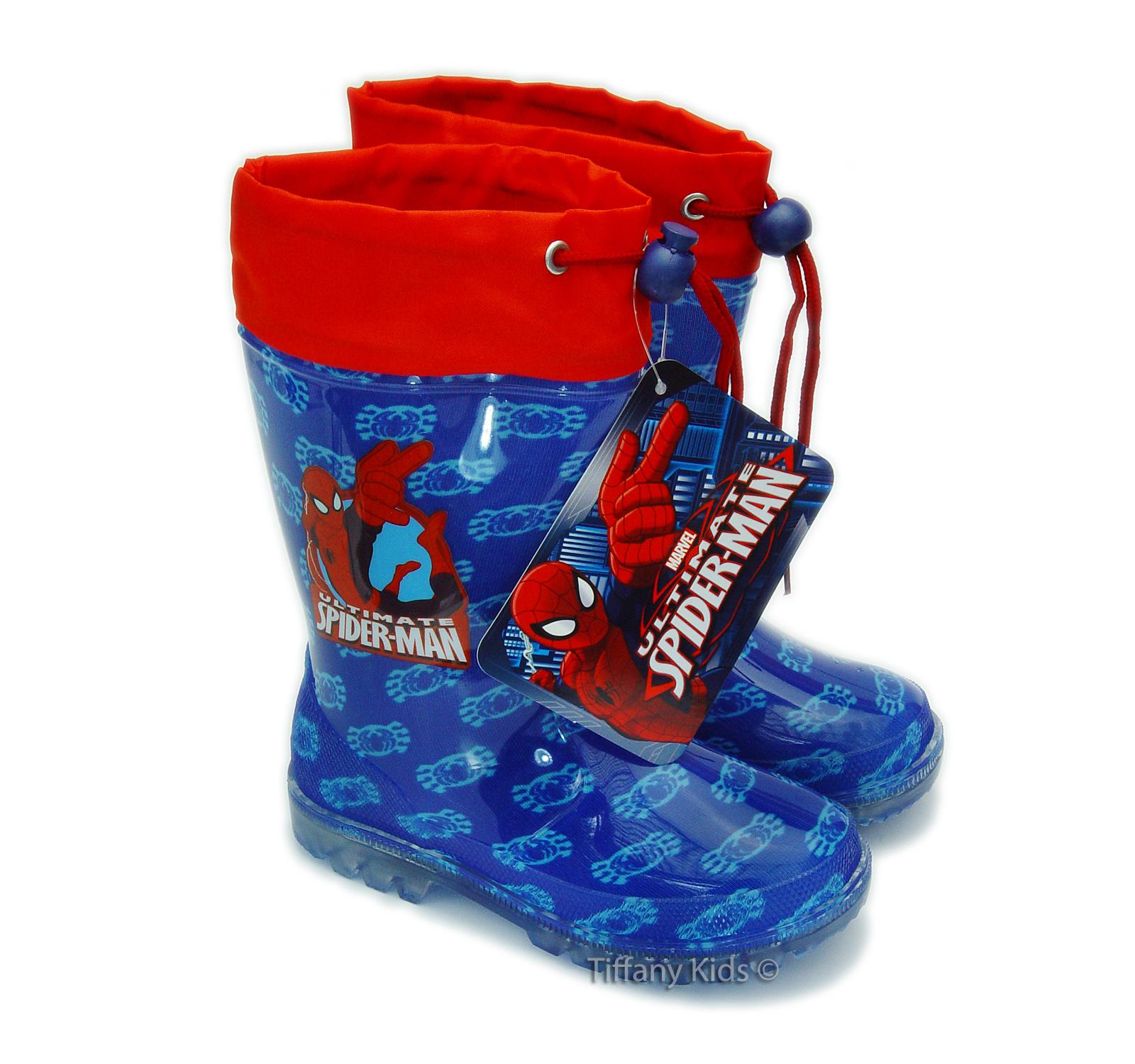 Spiderman® Cizme cauciuc  Albastru