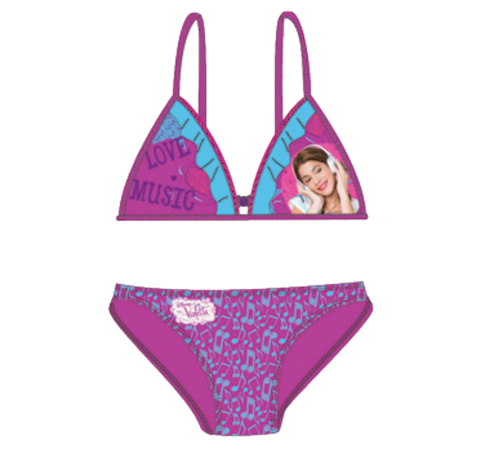 Violetta® Costum de baie 2 piese Violet